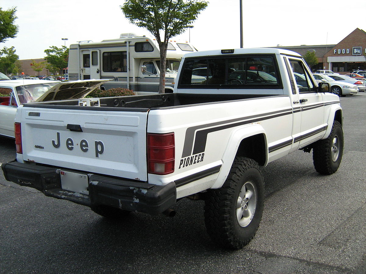 Cars Review 87 Jeep Wrangler Manual Yj Engine Diagram Parts List Comanche Wikipedia
