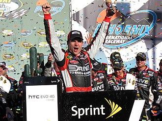 2011 Subway Fresh Fit 500 - Jeff Gordon won the race, his first during the season.