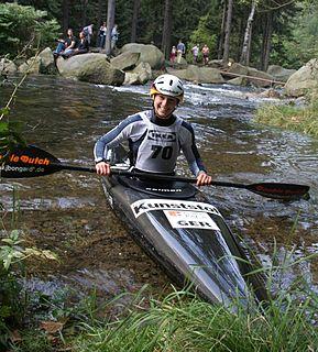 Jennifer Bongardt German slalom canoeist