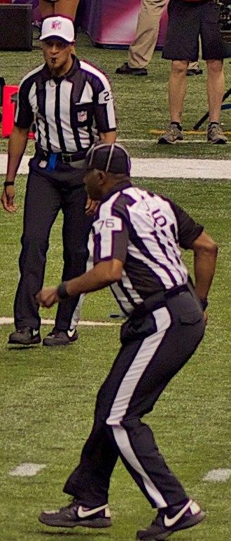 Jerome Boger - Boger and Darrell Jenkins working Super Bowl XLVII.