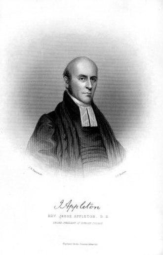Jesse Appleton - Image: Jesse Appleton second President of Bowdoin College 1880