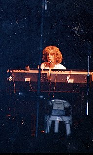 John Evan keyboard player (Jethro Tull)