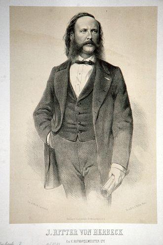 Johann von Herbeck - Image: Johann Ritter von Herbeck