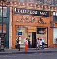 John Baillie Réal Scotch Tailor, 1 Rue Auber, Paris July 2010.jpg
