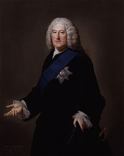John Carteret, 2nd Earl Granville British statesman