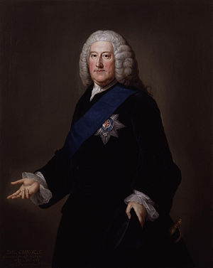 Short-lived ministry - Image: John Carteret, 2nd Earl Granville by William Hoare