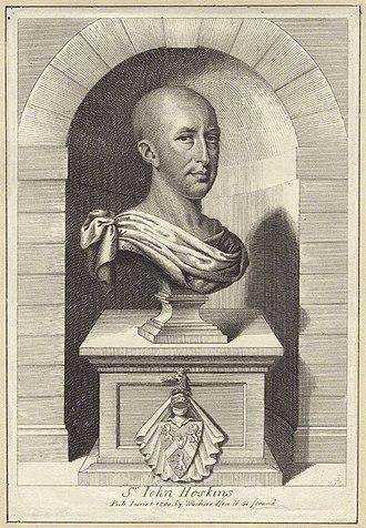 Sir John Hoskyns, 2nd Baronet - Image: John Hoskins PRS
