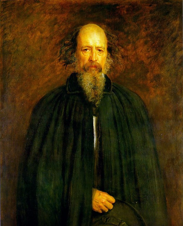 John everett millais portrait of lord alfred tennyson
