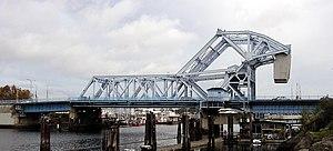 Johnson Street Bridge - Image: Johnson Street Bridge