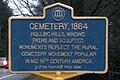 Jonesville Cemetery marker.jpg