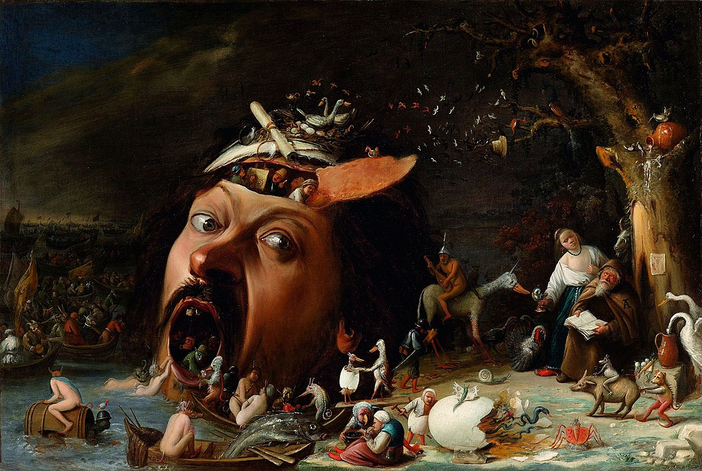 Joos van Craesbeeck -The Temptation of St Anthony