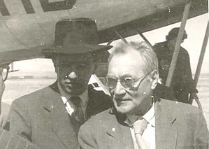 John Grierson - John Grierson (right) with Bolivian filmmaker Jorge Ruiz in 1955