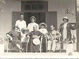 José da Costa Nunes - José da Costa Nunes on a visit to Portuguese Timor in 1937