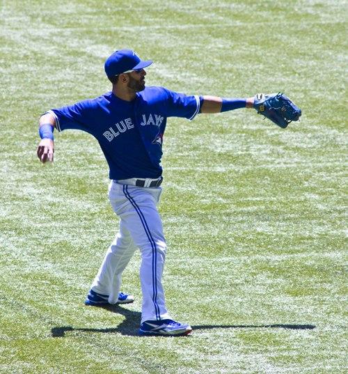 Jose Bautista of the Toronto Blue Jays, June 30, 2012