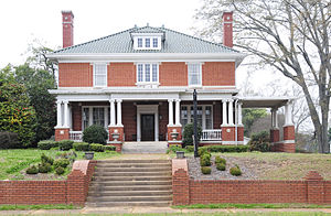 National Register of Historic Places listings in McCormick County, South Carolina - Image: Joseph Jennings Dorn House