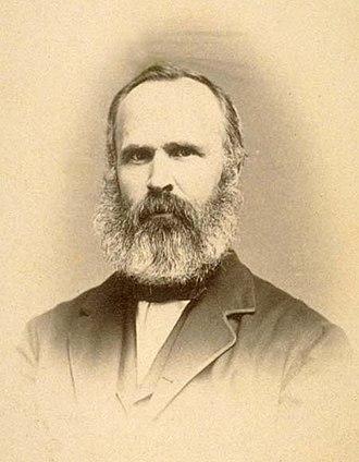 Josiah Whitney - Portrait of Josiah Whitney by Silas Selleck, 1863