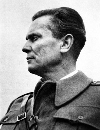 Tito–Stalin split - Image: Josip Broz Tito Bihać 1942