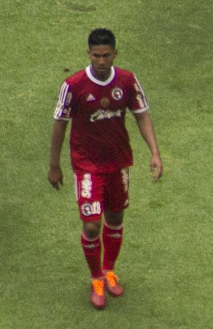 Juan Carlos Valenzuela (footballer) - Image: Juan Carlos Valenzuela Hernández