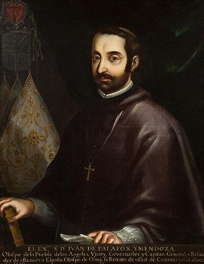 Retrato de Juan de Palafox y Mendoza.