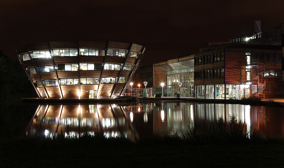 Jubilee Campus MMB Z7 Djanogly LRC and The Exchange