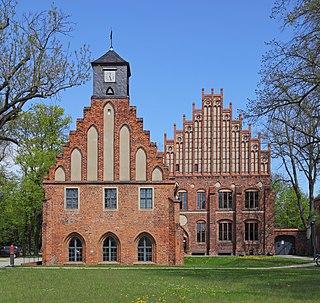 Teltow-Fläming District in Brandenburg, Germany