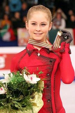 Julia Lipnitskaia at the 2014 European Championships - Awarding ceremony.jpg