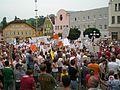 Kößlarn Marktplatz Demonstration.jpg
