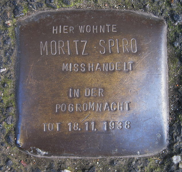 File:Köln-Ehrenfeld-StolpersteinSpiroMoritz1-Asio.JPG