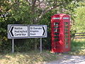 K6 phone box at Little Eversden - geograph.org.uk - 896391.jpg