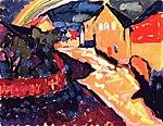 KAN - 0090 -- Peinture - Murnau With Rainbow, 1909.jpg