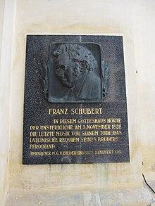 Memorial at the Kalvarienberg Church, Hernals (Source: Wikimedia)
