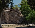 Karababa castle, stairs, Chalkida, Greece.jpg