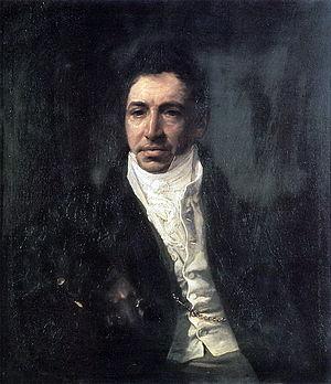 Pyotr Kikin - Portrait of Kikin as Secretary of State, by Bryullov