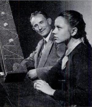 Karlis Osis - Karlis Osis testing his stepdaughter in a psychokinesis experiment.