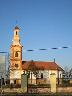 Karlovčić Village in Vojvodina, Serbia