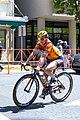 Karol-Ann Kanuel (Canada) of Boels-Dolmans before the start of Stage 4 in Sacramento (34844511311).jpg
