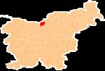 La loko de la Municipo de Solcava