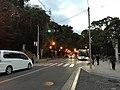 Kashii-Sando Avenue at dusk 20190102.jpg