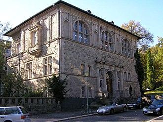 Kassel University Library - View of the Landes- und Murhardschen Bibliothek, 2004