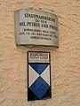 Kath. Pfarrkirche hll. Peter und Paul in Weitra - Kulturdenkmal-Schild.jpg