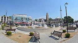 Kavajë city centre