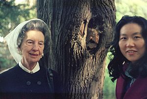Kay Boyle -  Kay Boyle with Bay Area historian Connie Young Yu in San Francisco, 1976.