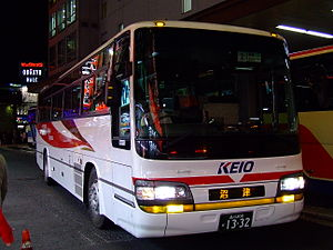 Keio Dentetsu Bus - A highway Keio Dentetsu Bus car