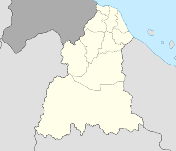 Tumpat is located in Kelantan