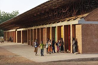 Diébédo Francis Kéré - Kéré Primary School extension in Gando