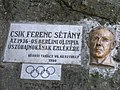 Keszthely- Balaton parton - Csík Ferenc - Túri Török Tibor alkotása.jpg