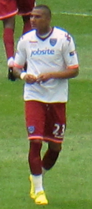 Kevin-Prince Boateng - Boateng playing for Portsmouth in the 2010 FA Cup Final