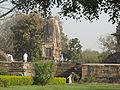 Khajuraho India, Temple between Nandi and Vishwanath Temple.JPG