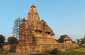 Vishwanath temple, Khajuraho, India.