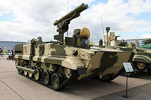 "9M123 Khrizantema - 9P157-2 ""Khrizantema-S"" variant of the BMP-3"